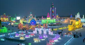 Harbin Ice City - Magnificent Ice Festival