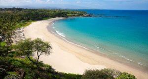 Kauna 'oa Beach, the Big Island